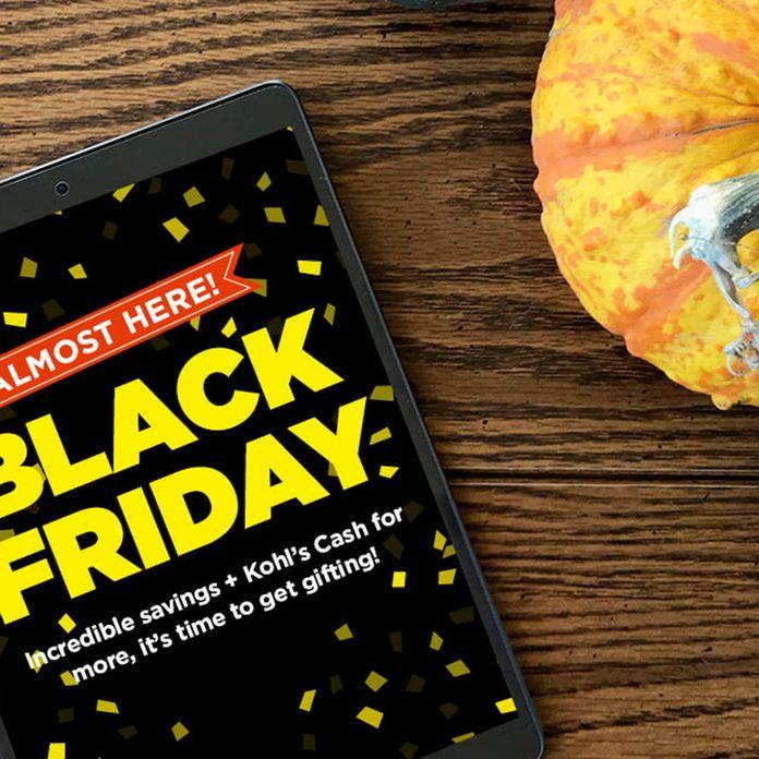 Kohl's Black Friday deals on phone