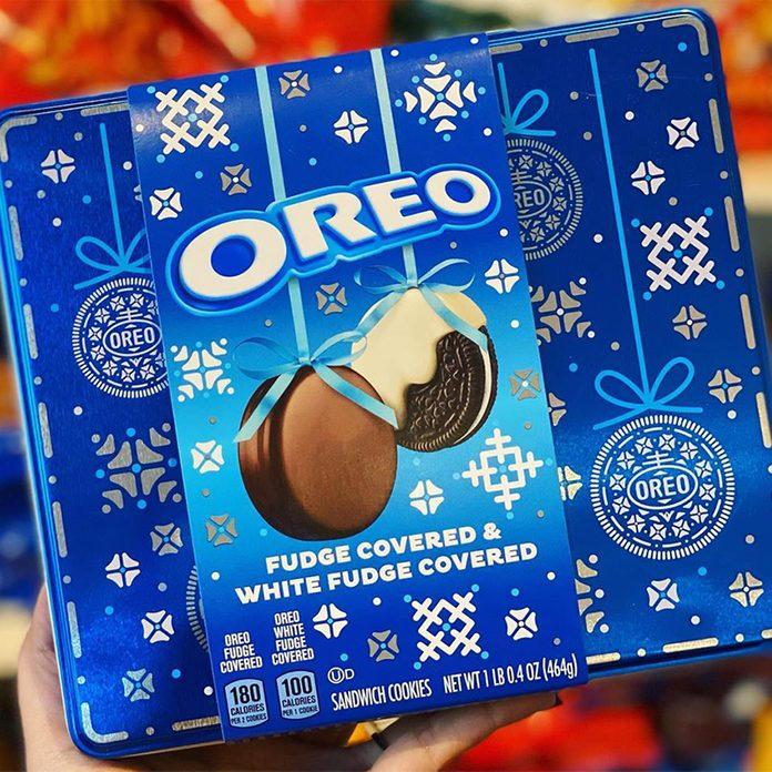 Oreo Holiday tin