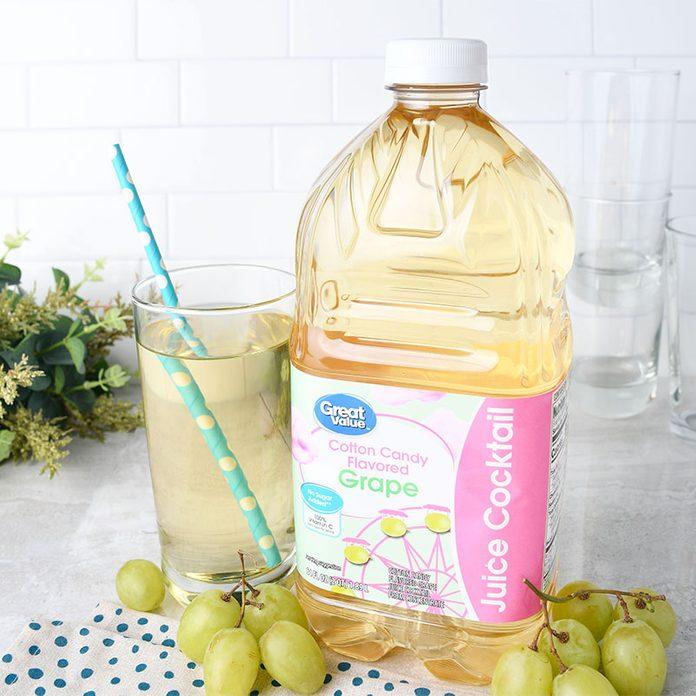 Great Value Cotton Candy Grape Juice Cocktail, 64 fl oz