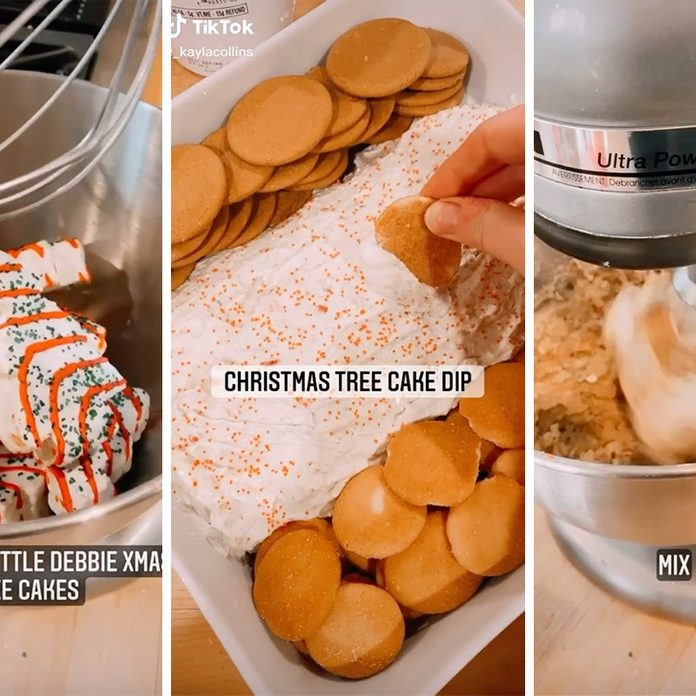 Christmas Tree cake mix