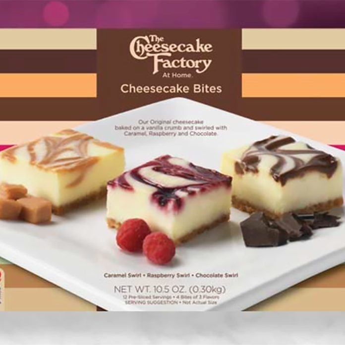 ASSORTED CHEESECAKE BITES at costco