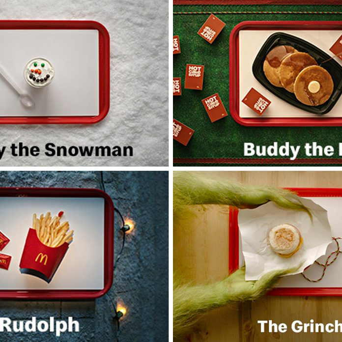 McDonalds is offering free items for the holiday movies