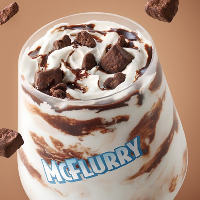 McDonald's Chocolate Brownie McFlurry™