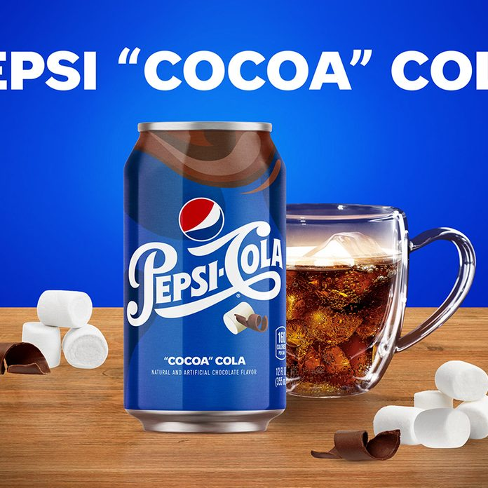 "Pepsi ""Cocoa"" Cola - the latest concept from the Pepsi Test Kitchen"