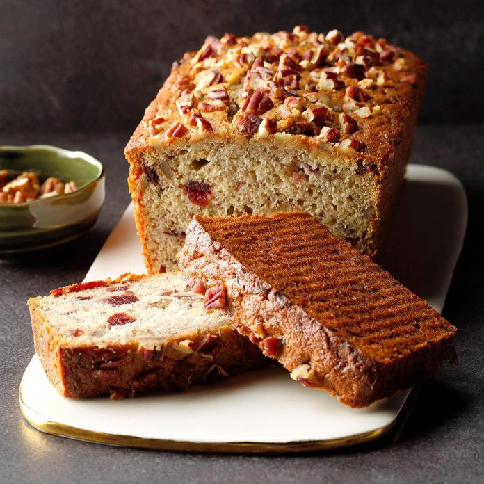 Cranberry banana quick bread