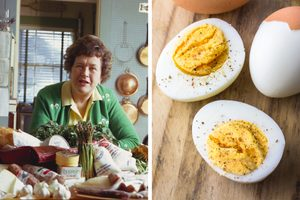 This Is Julia Child's Secret for Perfect Hard-Boiled Eggs