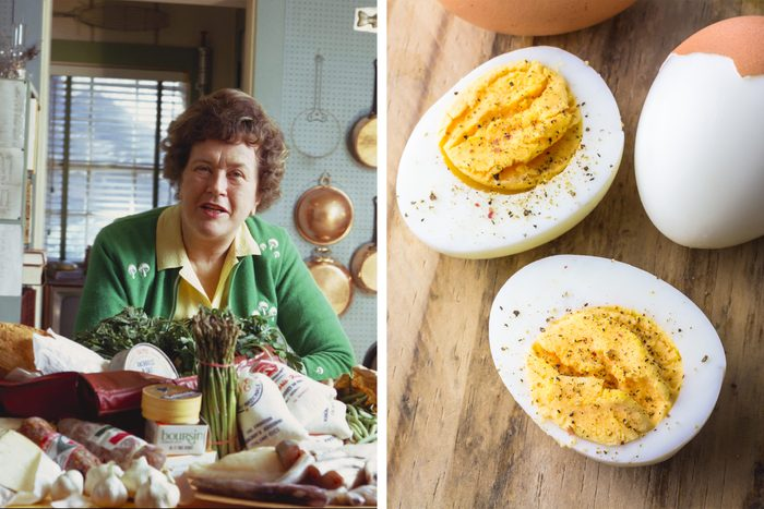 Julia Childs And Hard Boiled Eggs Getty