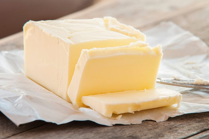 Stick Of Butter, Cut