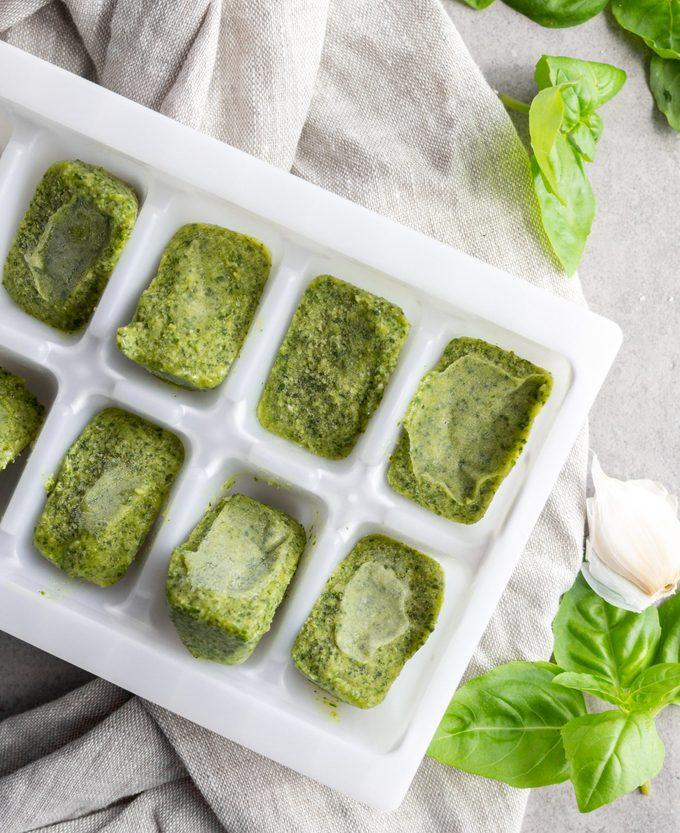 how to make pesto How to Store Pesto