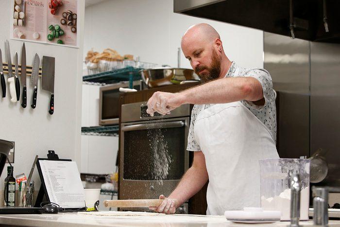 Josh Rink in the Taste of Home Test Kitchen.