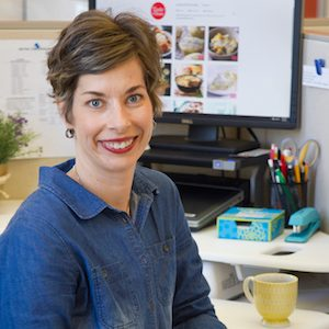 Peggy Woodward, Senior Food Editor at Taste of Home