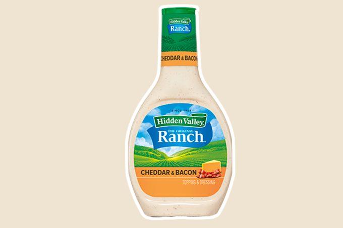 HIDDEN VALLEY® CHEDDAR & BACON FLAVORED RANCH