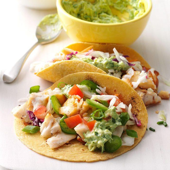 Fish Tacos with Guacamole