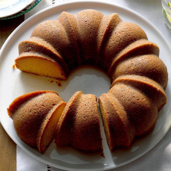 Caribbean Coconut Rum Cake