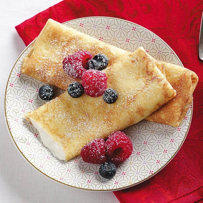 Gluten-Free Breakfast Blintzes