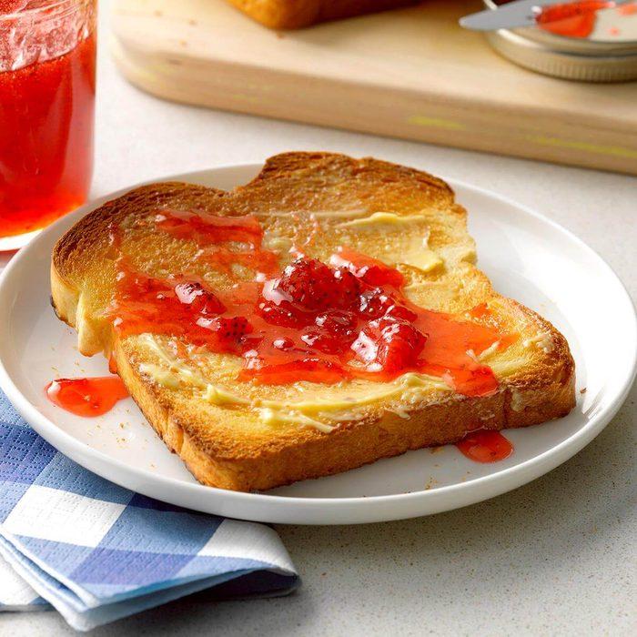Quick and Easy Strawberry Jam