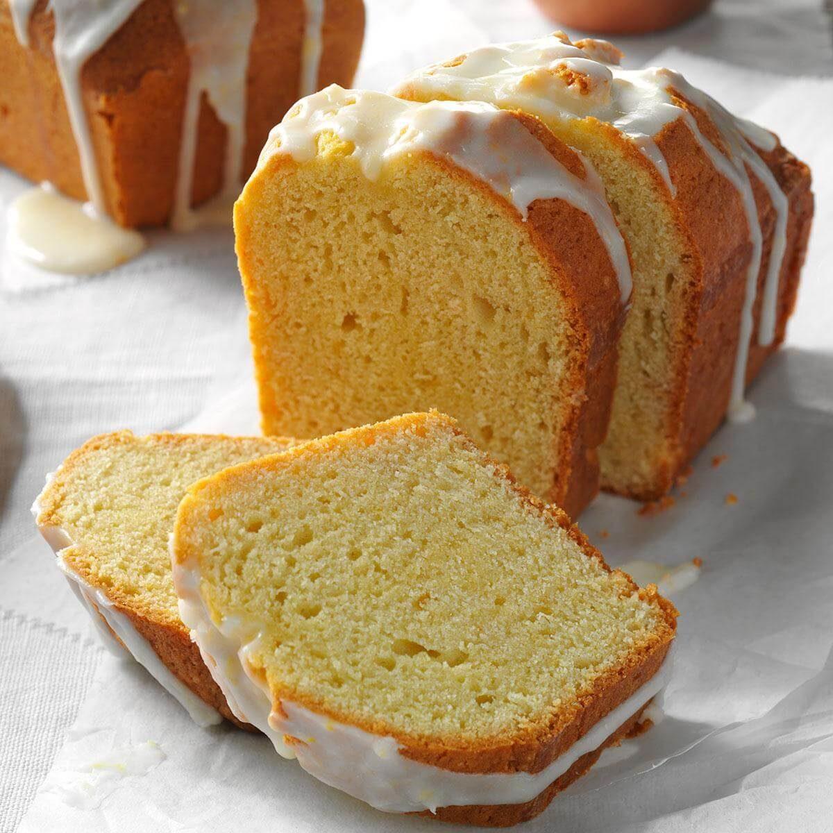 Lemon Pound Cake Loaves
