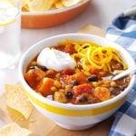 Slow-Cooker Chicken & Sweet Potato Chili