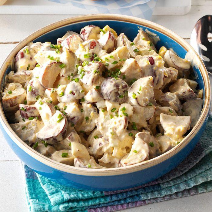 Grilled Firecracker Potato Salad