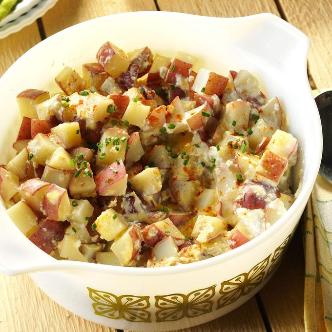 Slow Cooker Red Potatoes