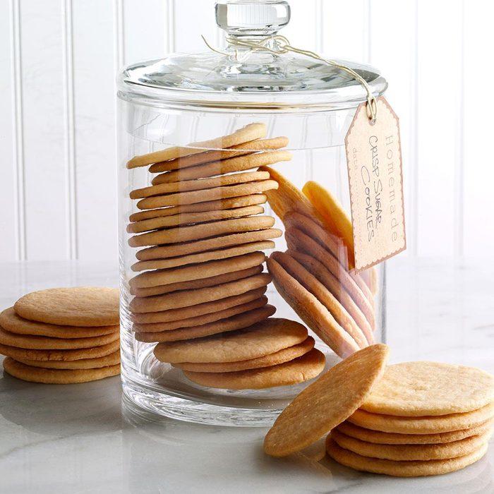 Crisp sugar cookies