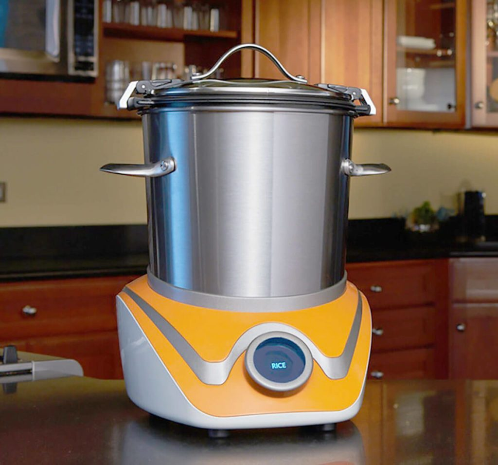 MasterSous gadget sitting on a countertop