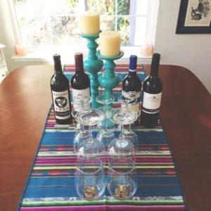 Friendsgiving wines.