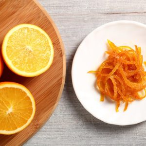 Candied Orange Zest