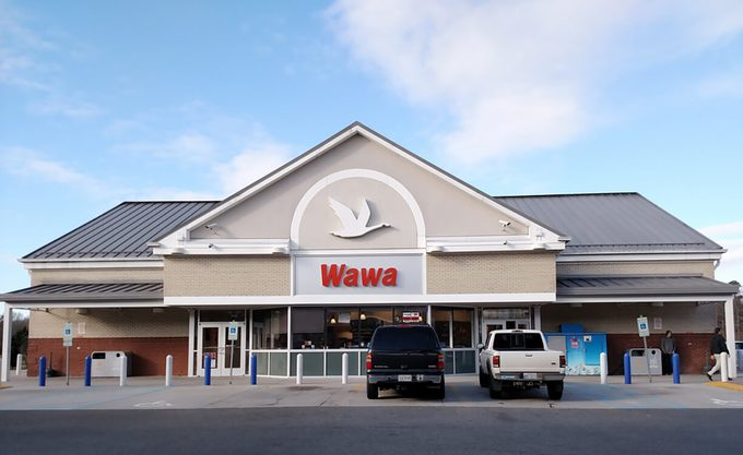 A Wawa convenience store, Wawa Inc.is a chain of convenience store/gas stations along the East Coast of the United States