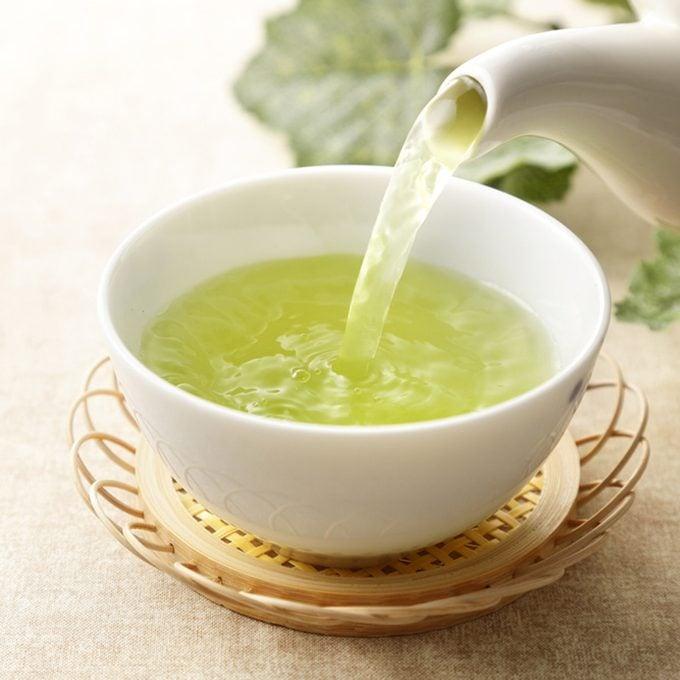 Japanese green tea; Shutterstock ID 592033208