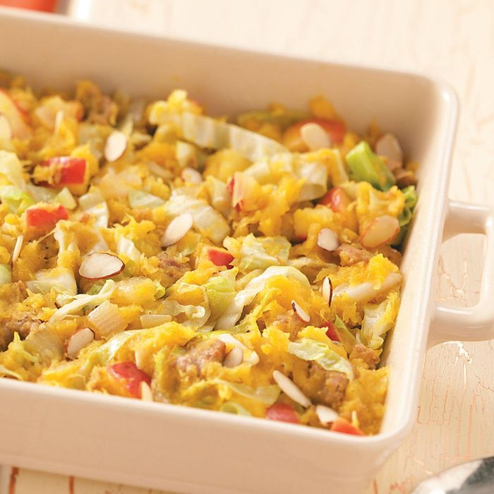 Acorn Cabbage Bake