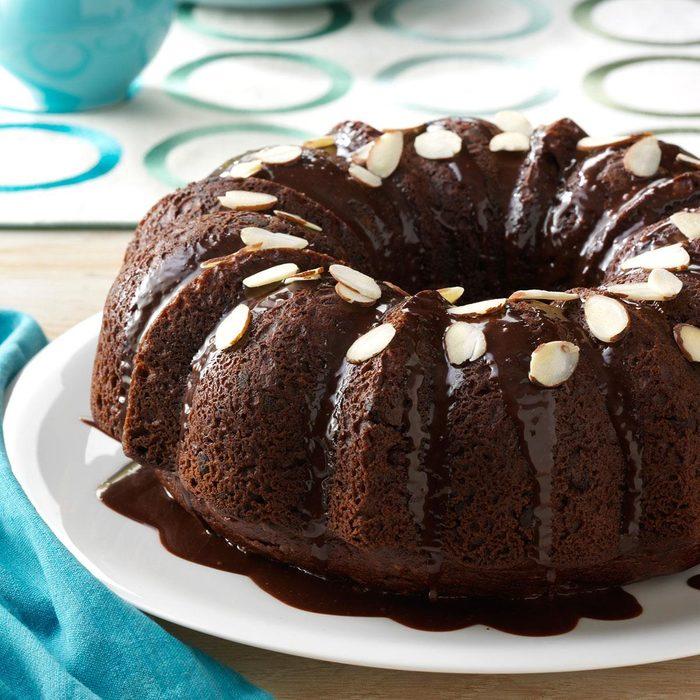Almond Chocolate Cake