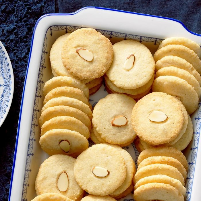 China: Almond Ginger Cookies