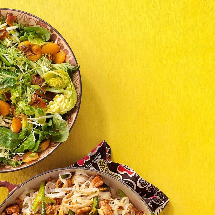 Almond & Mandarin Orange Salad