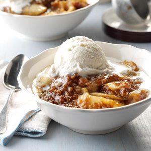 Apple Butterscotch Crisp