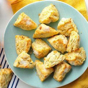 Apple & Cheddar Mini Scones