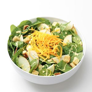 Apple & Cheddar Salad