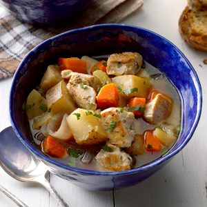 Apple Chicken Stew
