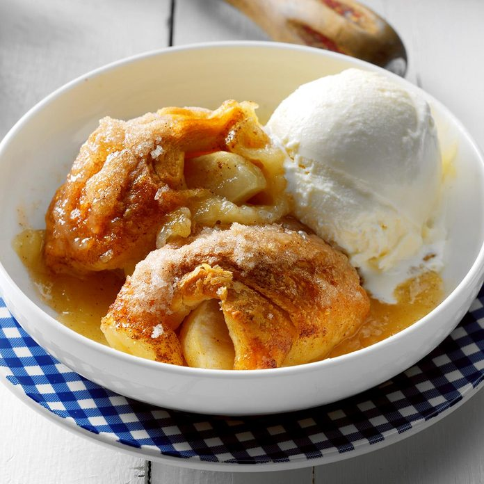 Inspired by: Cracker Barrel Baked Apple Dumplin'