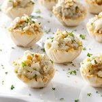 Apple-Nut Blue Cheese Tartlets
