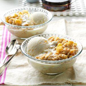 Apple Pie Oatmeal Dessert
