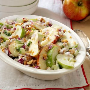 Apple Salad with Tzatziki Dressing