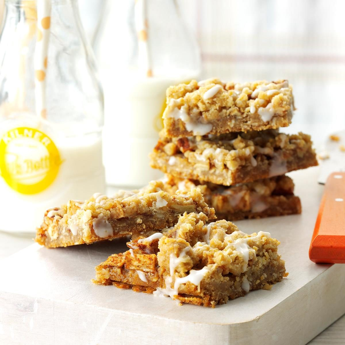 Apple Streusel Bars