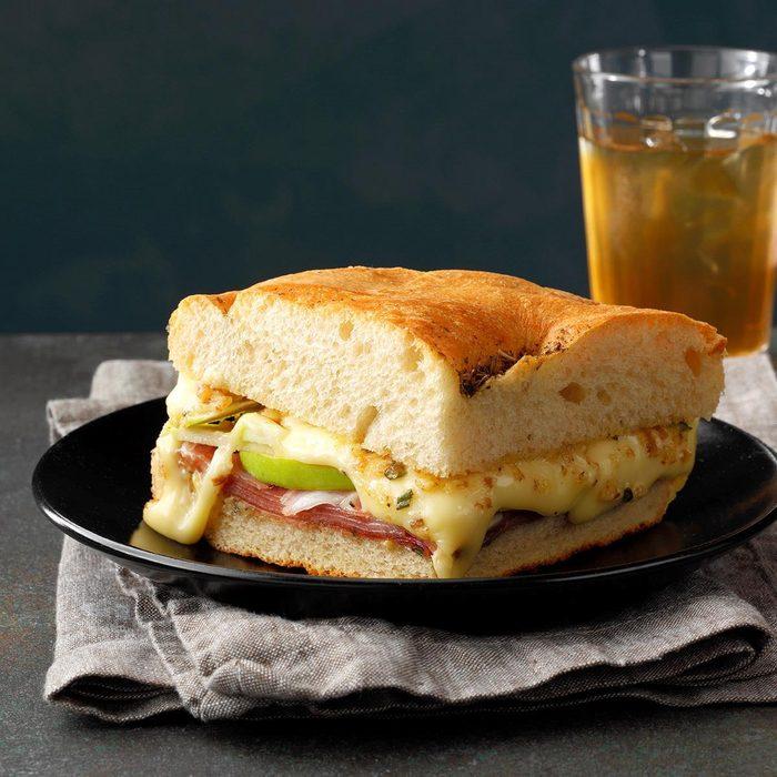 Apple 'n' Prosciutto Sandwiches