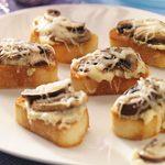 Artichoke & Mushroom Toasts