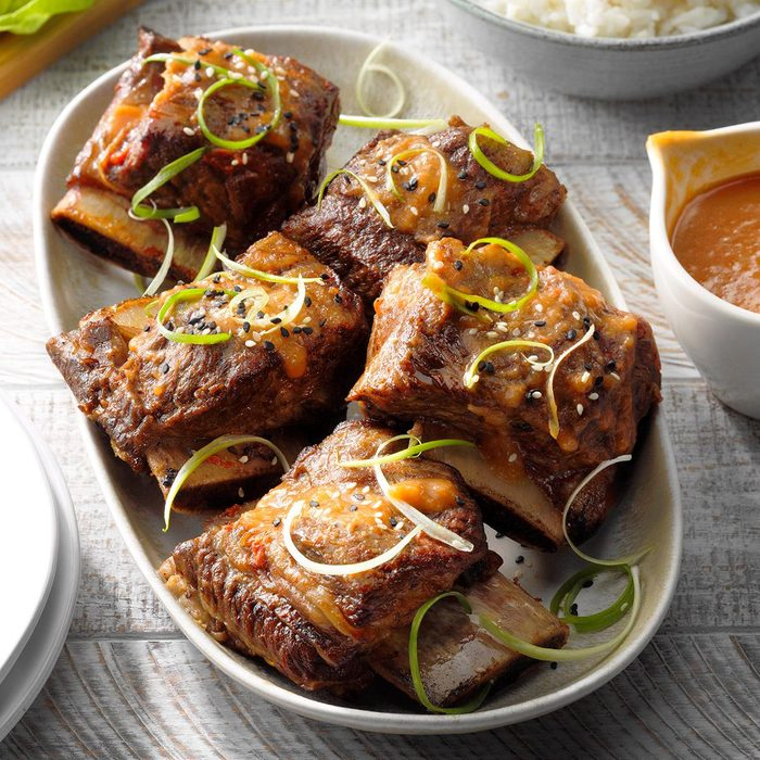 Asian Barbecued Short Ribs