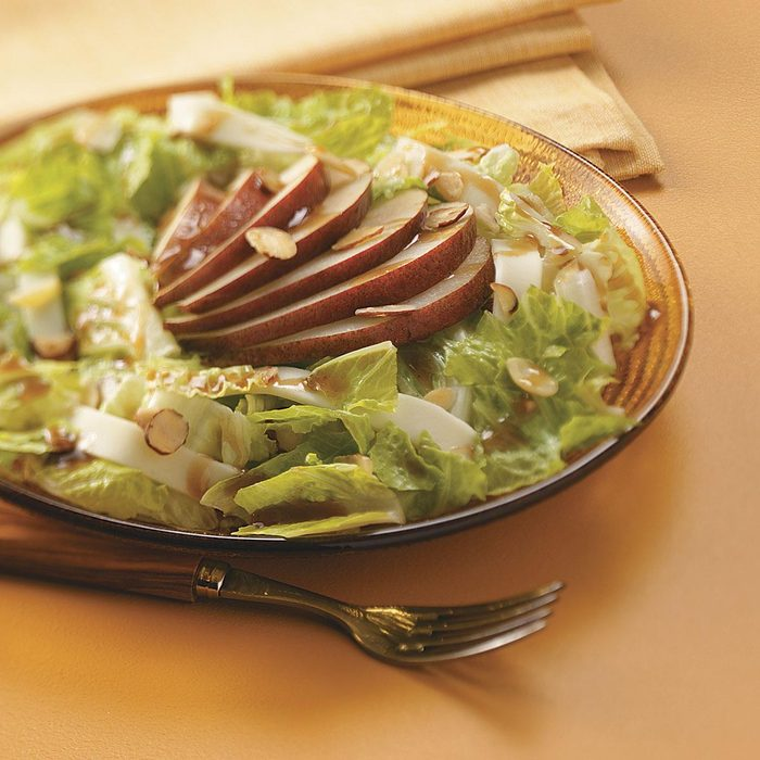 Asian Pear Salad for Two