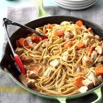 Asian Pork Linguine