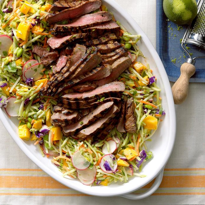 July 14: Asian Slaw with Steak