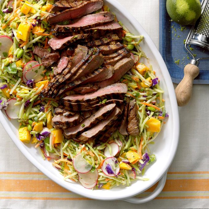 Asian Slaw With Steak Exps Sdjj17 199903 B02 17 4b 2